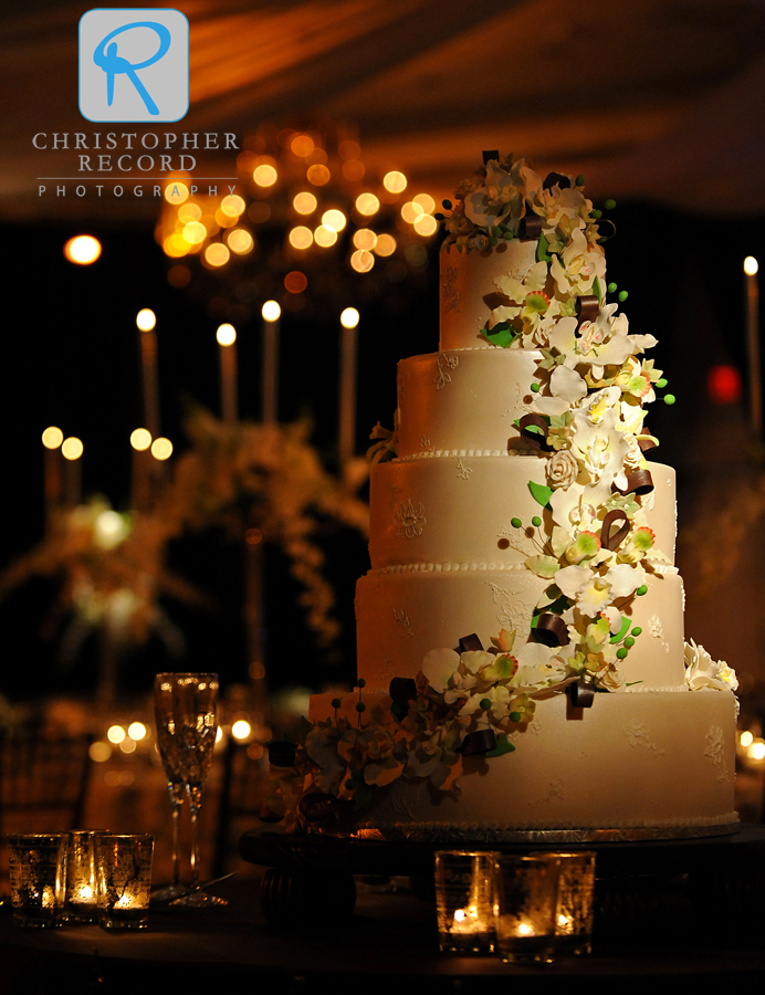 An incredible cake by Jill Delmastro of Wedding Cakes by Jill
