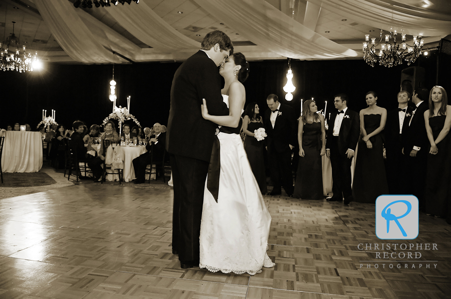 Jackie and Stu's first dance