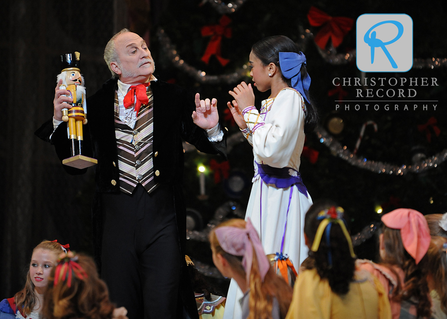 Mark Diamond's Drosselmeyer with Clara