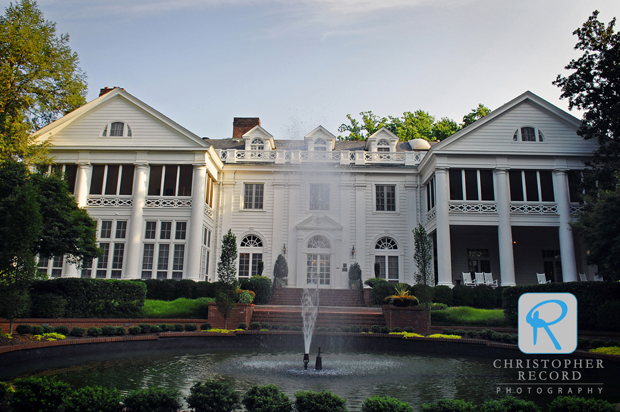 The Duke Mansion in Charlotte has an incredible history and is a wonderful spot for rehearsal dinners and bridal portraits