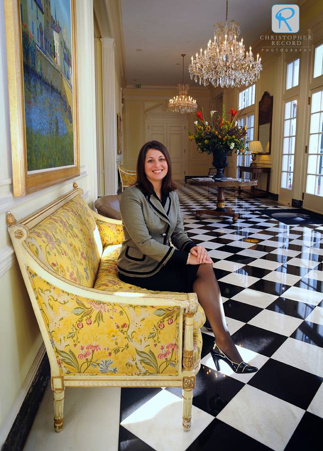 Aundrea Hopkins is the senior conference services manager at The Duke Mansion
