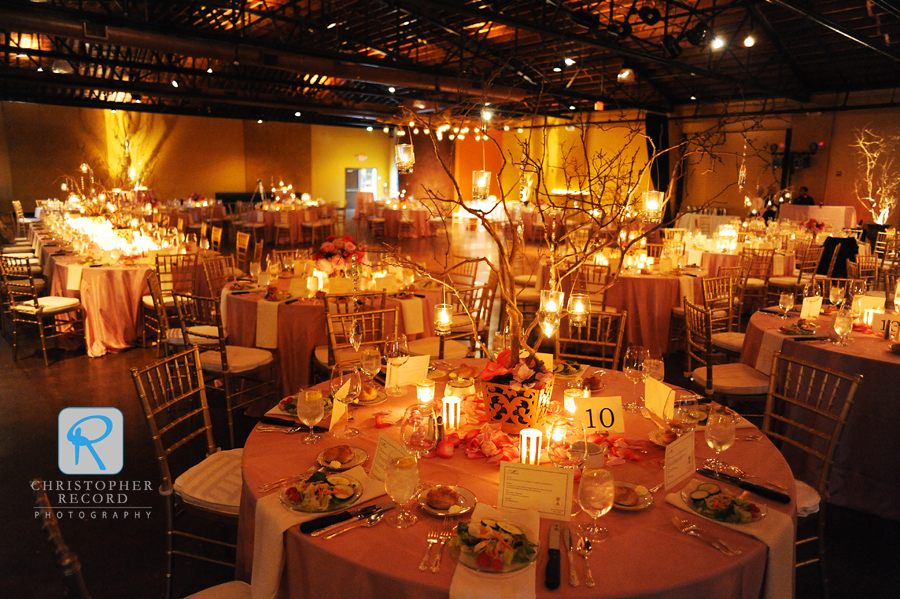 Fabulous ambiance created by the amazing Carolyn Shepard Design Group