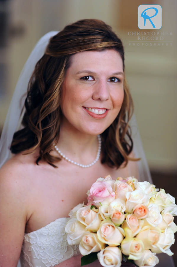 One of the bridal portraits we did earlier this summer at Myers Park Country Club
