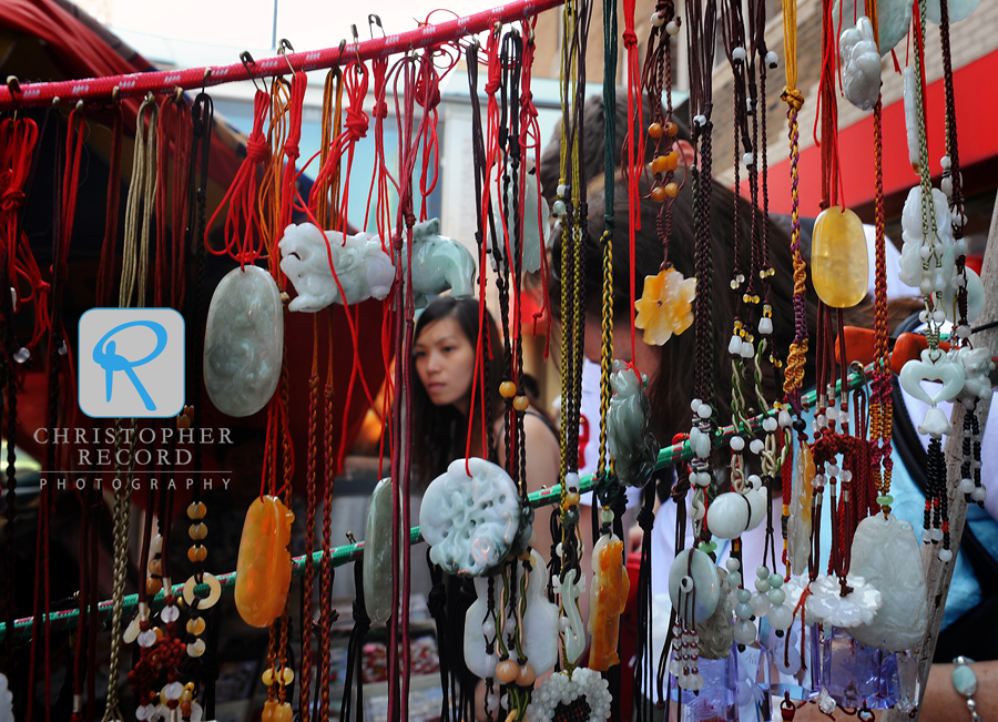 Trinkets for sale in Chinatown