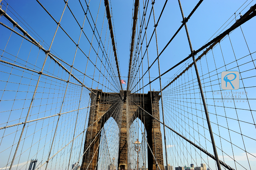 The Brooklyn Bridge is one of the oldest suspension bridges in the US