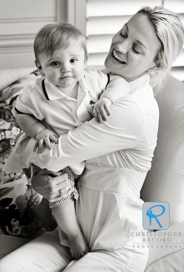 Jack with his mother Jayne