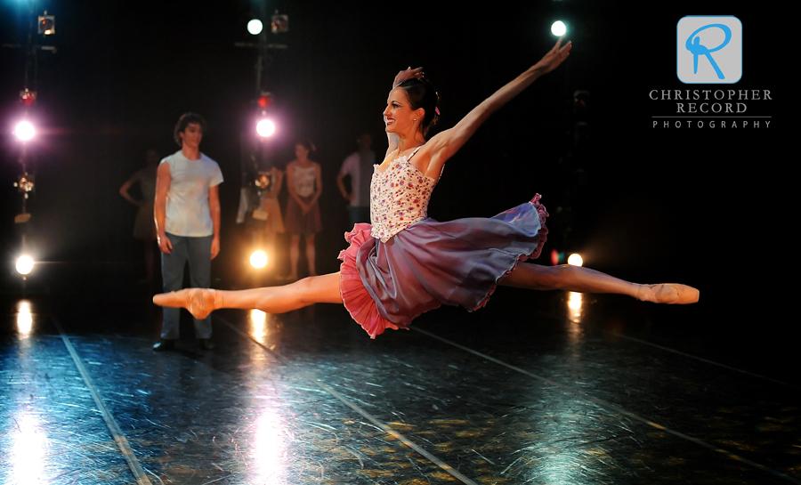 Alessandra Ball leaps