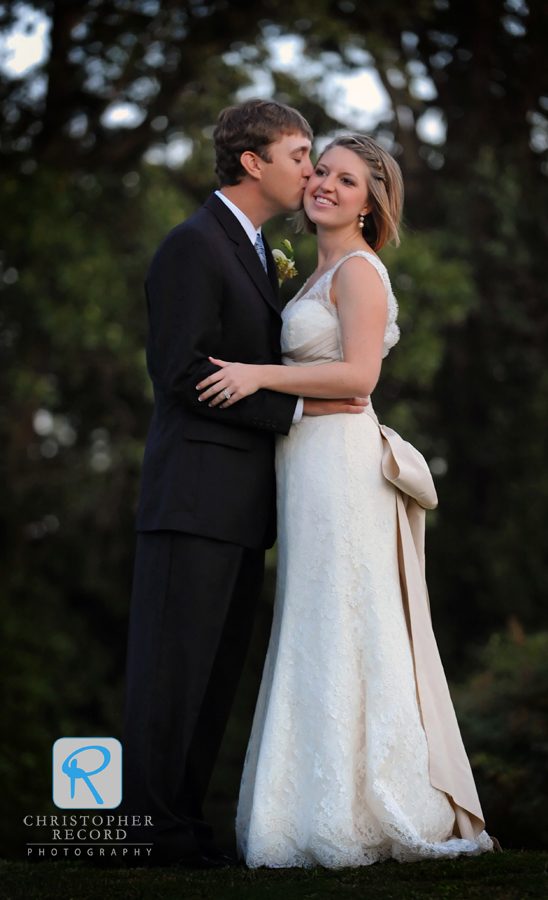 Stephanie and Thomas at Rock Hill Country Club