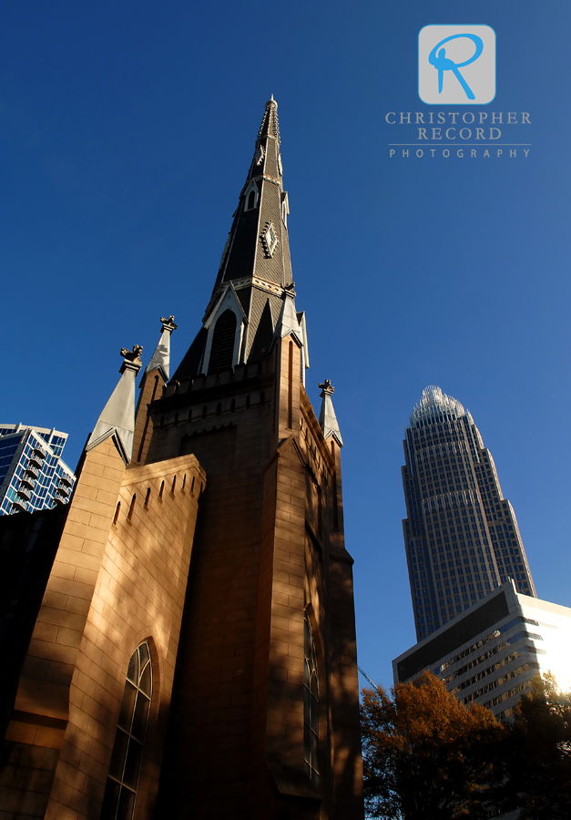 First Presbyterian Church offers a glimpse of history among Charlotte's modern skyline