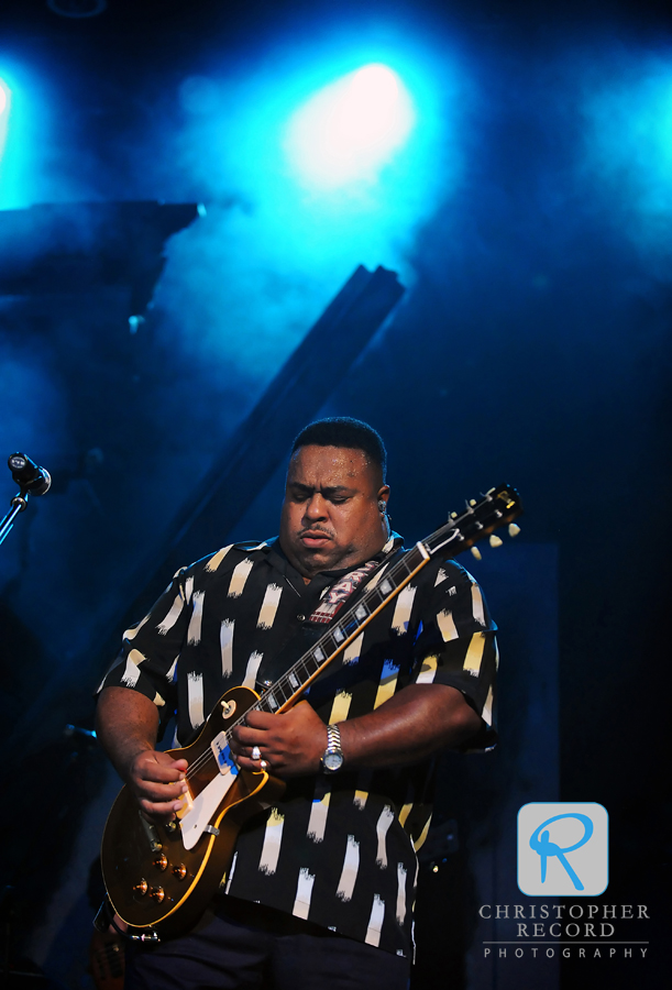 McCray has opened for blues greats Robert Cray and the Allman Brothers among others