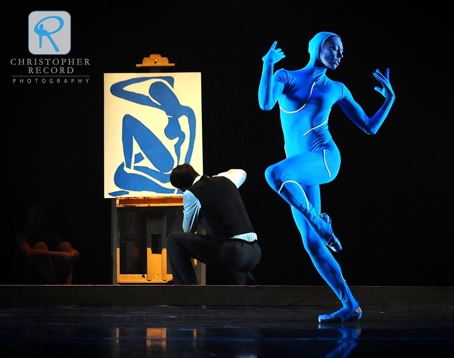 """Kara Wilkes brings Matisse's """"Blue Nude"""" to life"""