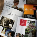 Weddings Featured in The Knot and Charlotte Wedding