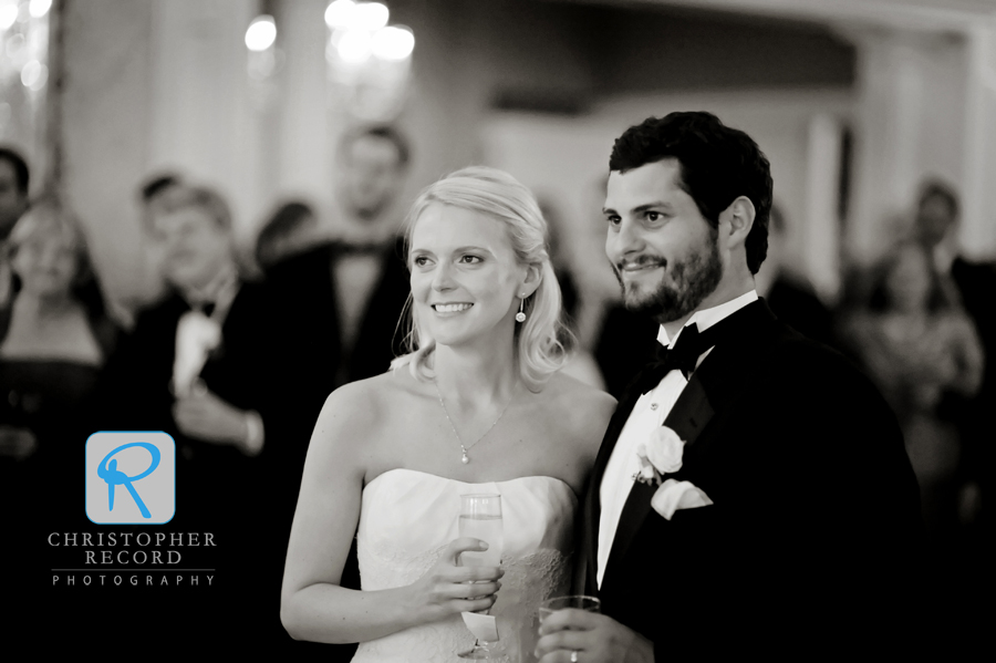 Katie and Rob's Myers Park wedding is featured in the inaugural Charlotte Weddings magazine