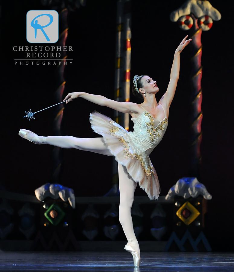 Rebecca Carmazzi is the Sugar Plum Fairy