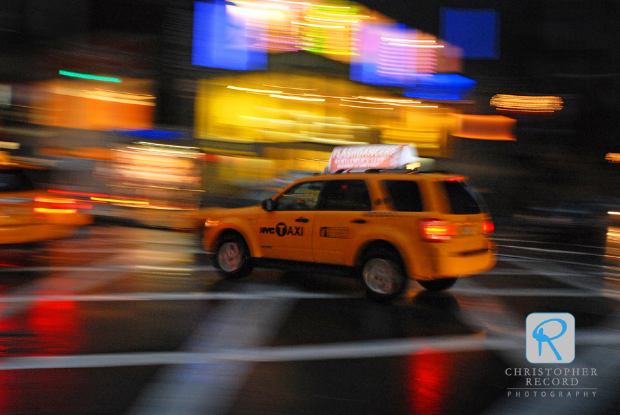 Panning with a slow shutter speed
