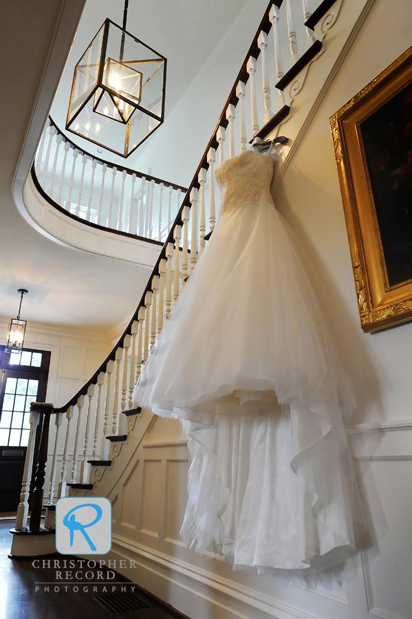 Elizabeth's beautiful dress