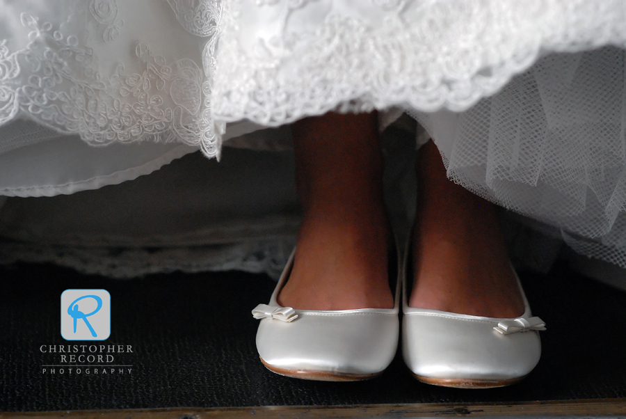 Tanner's shoes, another nice detail from Laura-Chase