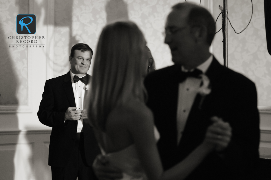 Love Todd's image of Greg watching Kristen dance with her father
