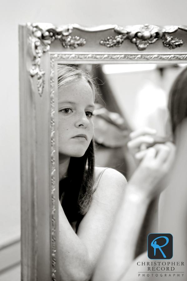 Sarah's sister Lydia prepares