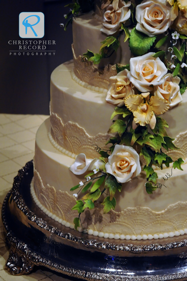 Amazing confection from Kathy Allen of Cakes of Distinction