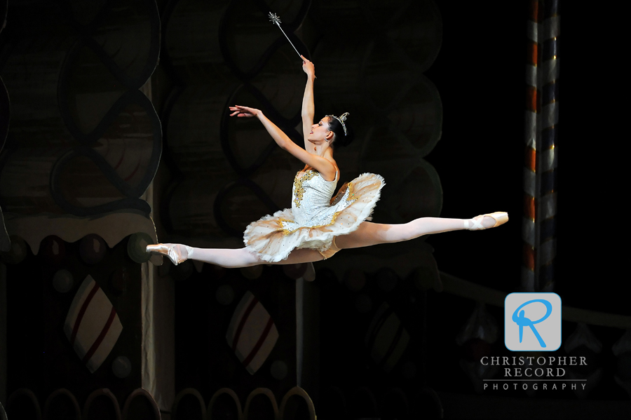 Anna Gerberich soars in her stint as the Sugar Plum Fairy