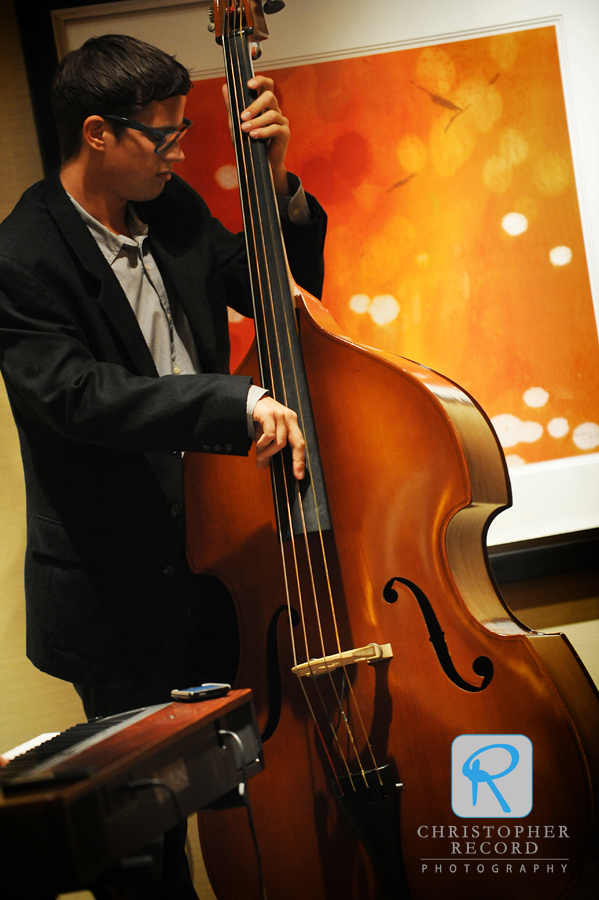 Jazz lovers, Kristina and Wayne had a talented trio for the reception