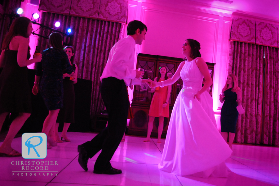 And they danced the night away