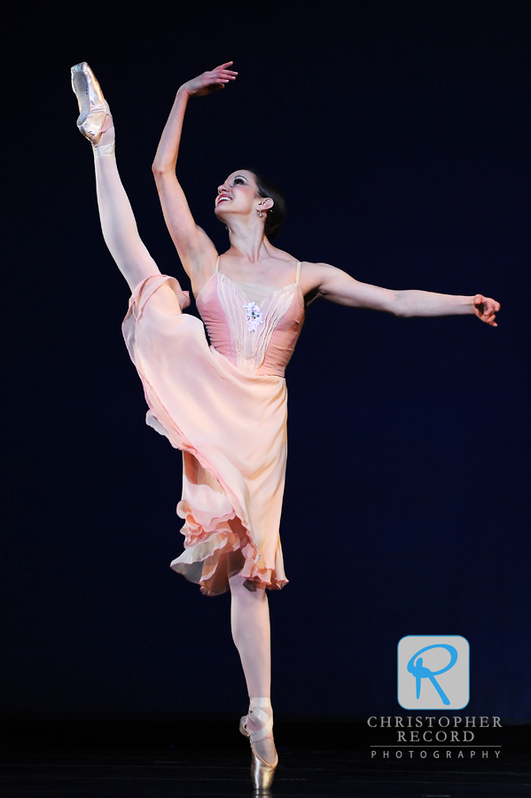 """Director's Choice"" offers an ecletic mix of styles, and Allessandra Ball brought grace to ""Tchaikovsky Pas de Deux"""