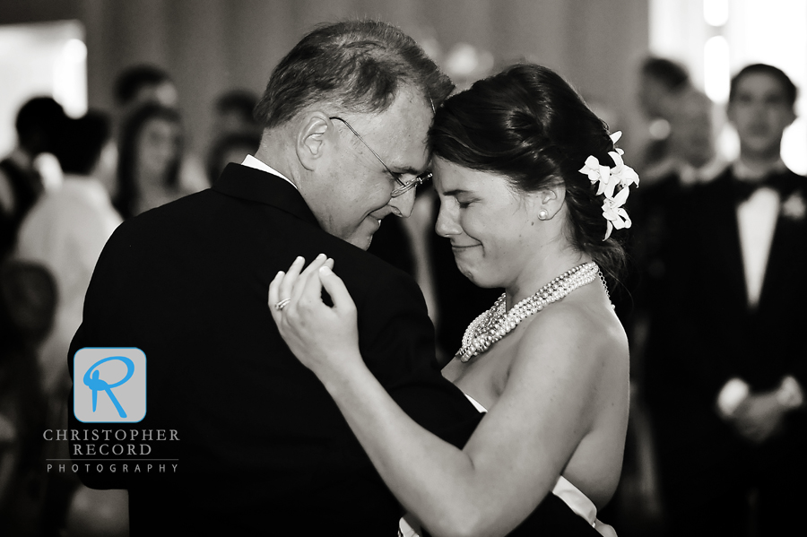 Love the emotion Peter captured in the Father/Daughter dance