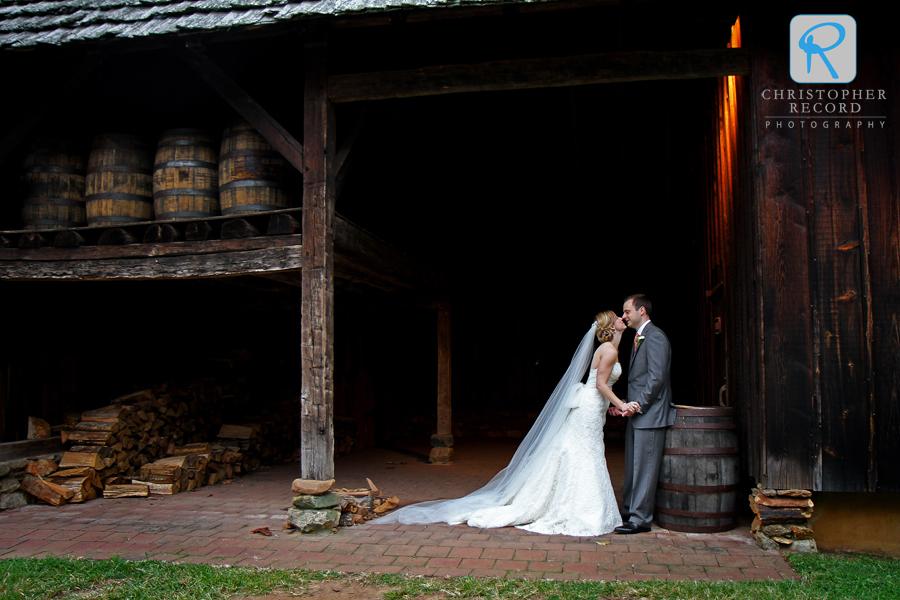 Regina and Vincent at Old Salem in Winston-Salem