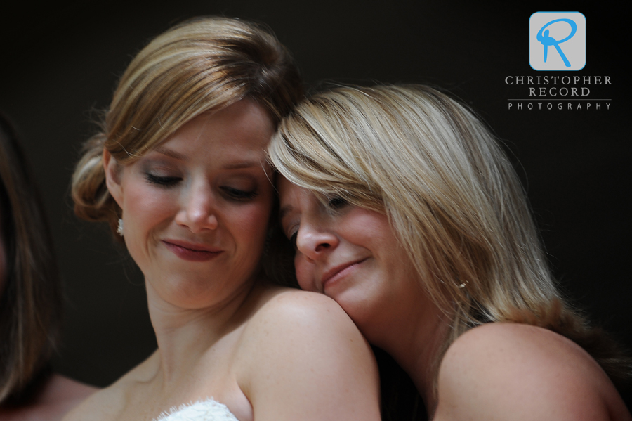 Regina and Ticia share a quiet moment