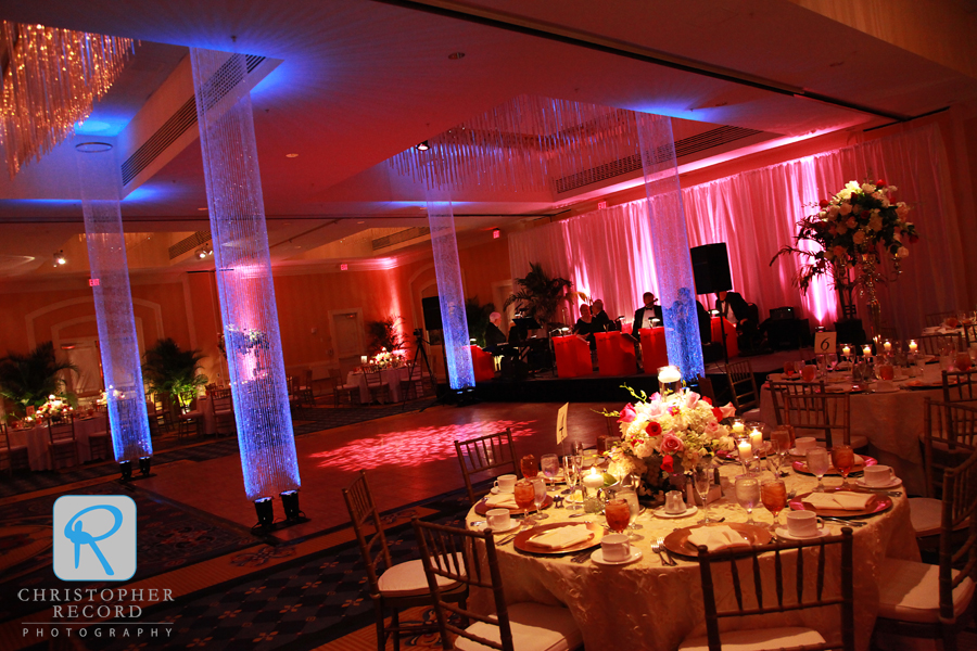 The spectacular setting at the Columbia Marriott, coordinated by White Tent Event