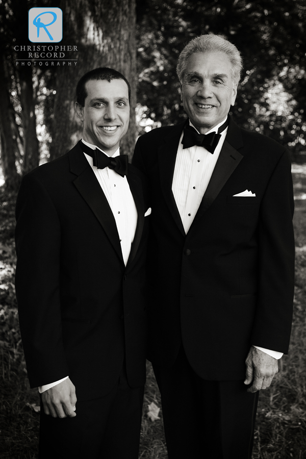 Sharp-dressed men - Jeff and his father