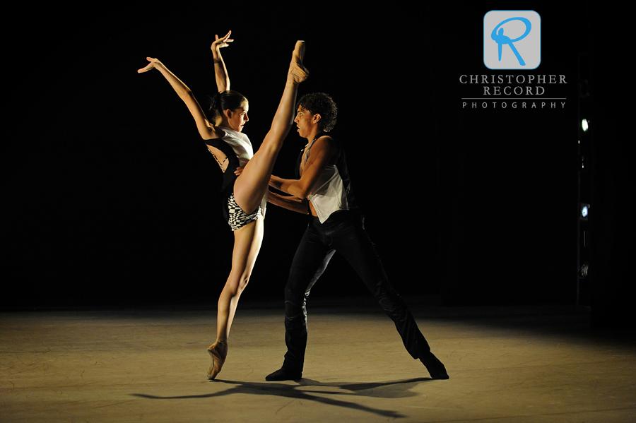 Anna Gerberich and Jordan Leeper