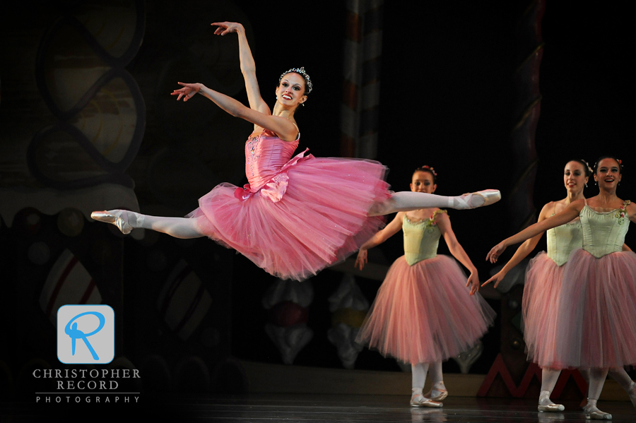 Alessandra Ball takes flight in North Carolina Dance Theatre's Nutcracker