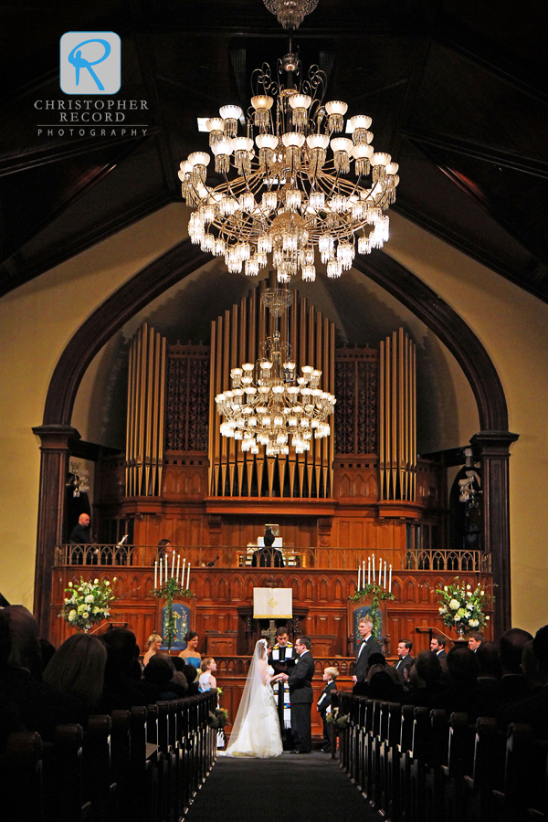 Beautiful historic setting at First Presbyterian Church