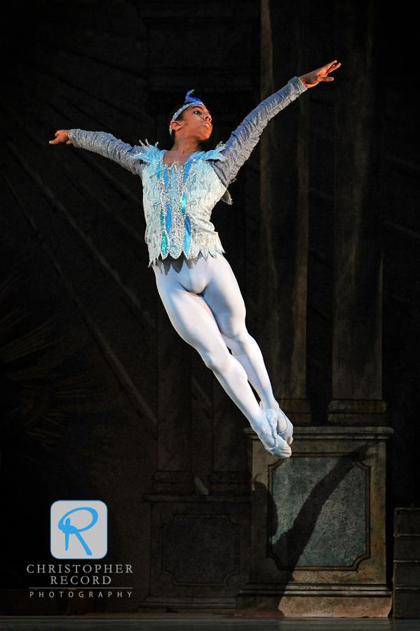 Jordan Leeper soars