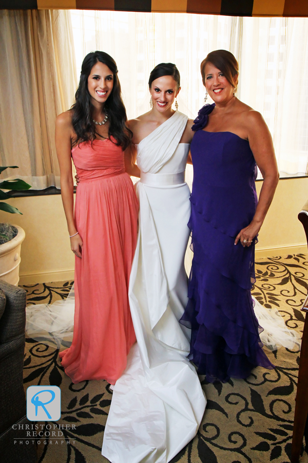 Alessandra with Christina and Mitzi