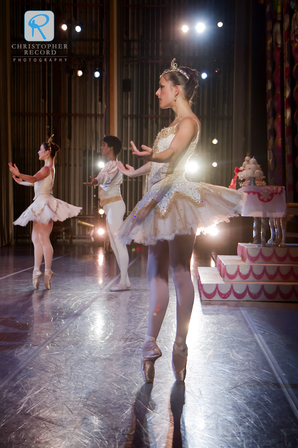 With many performances, multiple dancers are trained for the lead roles