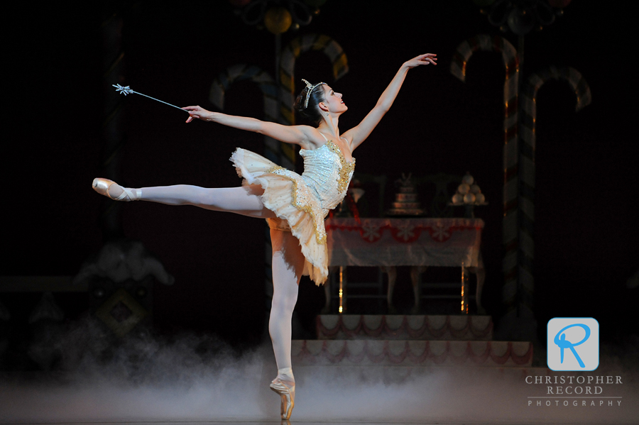 Anna Gerberich as the Sugar Plum Fairy