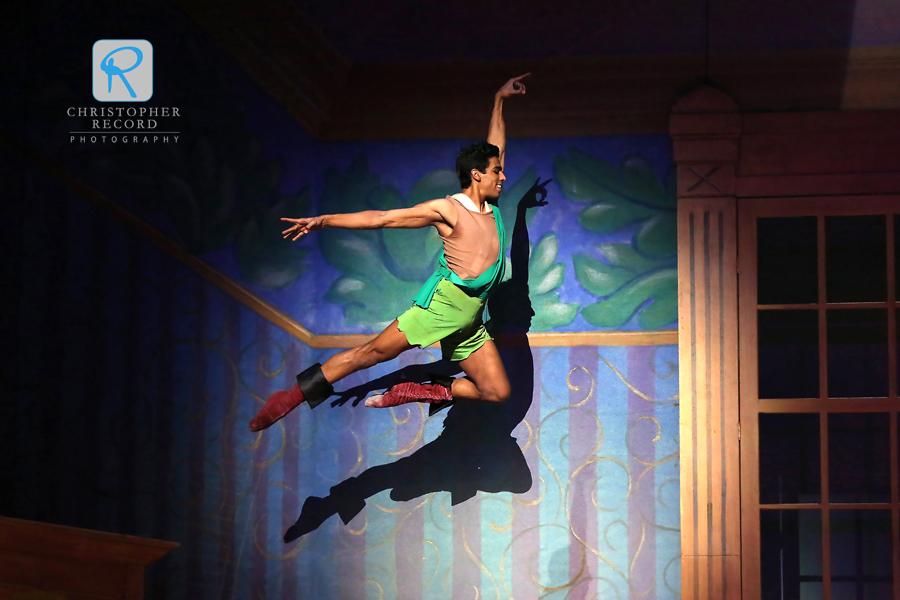 Pete Walker is Peter Pan