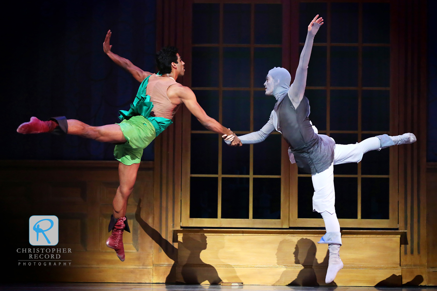 Ballet Photography: NCDT's Peter Pan – FotoRecord