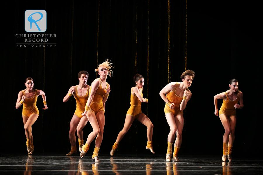 Twyla Tharp's The Golden Section
