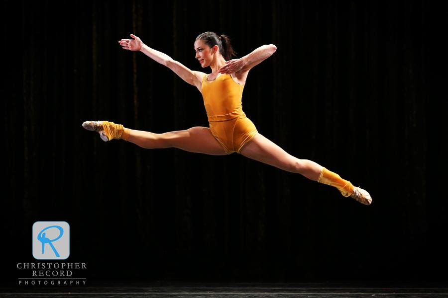Emily Ramirez soars