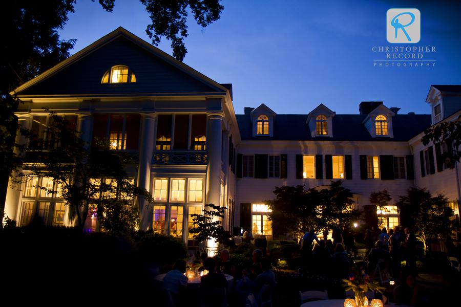 Pristine night at the Duke Mansion
