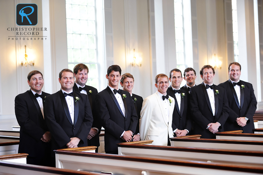 The men inside Christ Episcopal