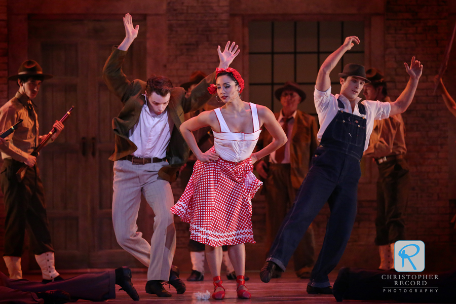 Carmen has a powerful effect on men