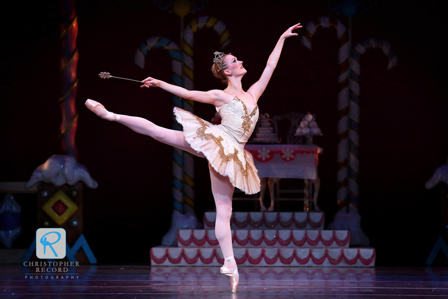Sarah Hayes Watson as the Sugar Plum Fairy