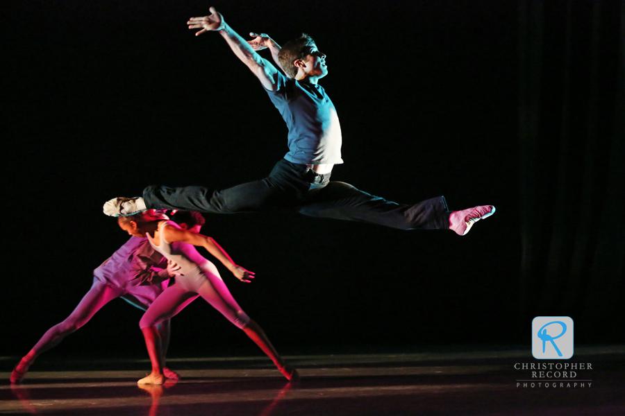 Gregory DeArmond leaps