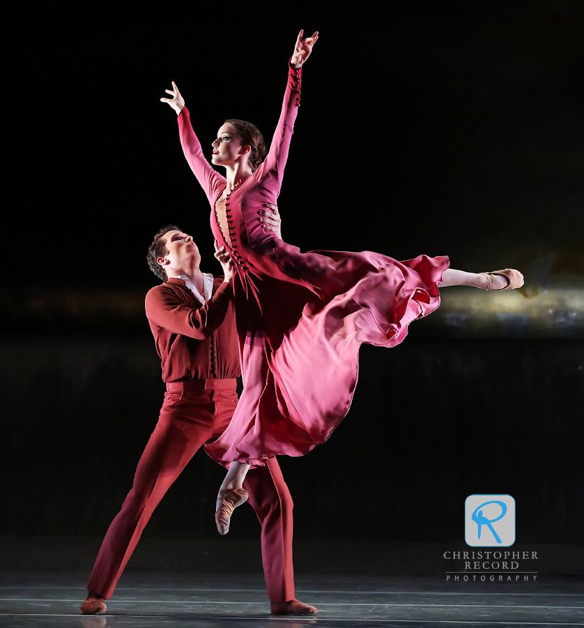 Chelsea Dumas and Josh Hall